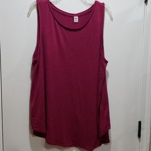 🐚3for15🐚Old Navy magenta luxe tank XL